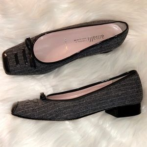 AMALFI For Nordstrom Pinstripe Italian Heels